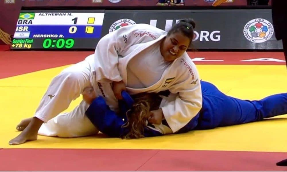 maria suelen altheman grand slam de tel aviv - Jogos Olímpicos de Tóquio 2020 - peso pesado +78kg judô