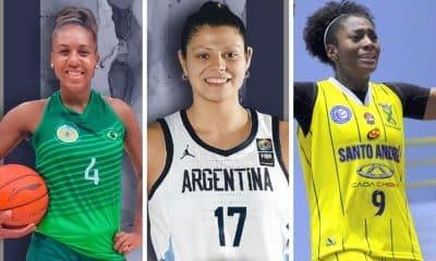 Luana Agustina Leiva Jaqueline reforços liga de basquete feminino
