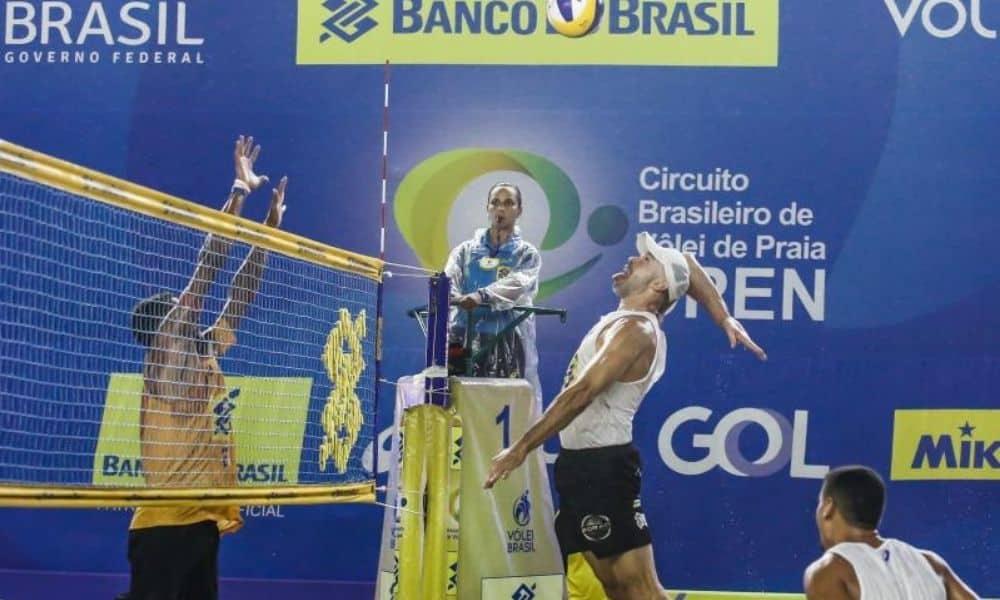 sétima etapa do circuito brasileiro de vôlei de praia