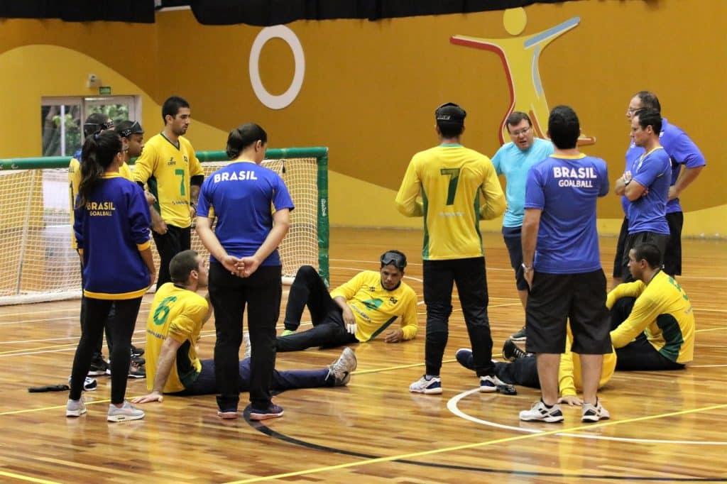 GOALBALL E FUTEBOL 5 RETOMAM ATIVIDADES