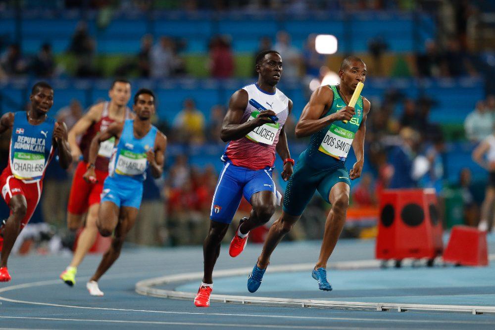4x400m masculino Rio-2016 Felipe Frazão/Agência Brasil