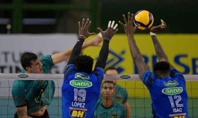 Acompanhe ao vivo Itapetininga x Cruzeiro pela Superliga de vôlei masculino