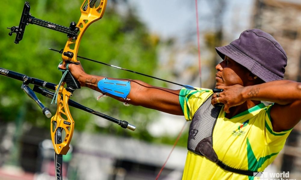 Ane Marcelle dos Santos tiro com arco Jogos Olímpicos de Tóquio-2020 pré-olímpico