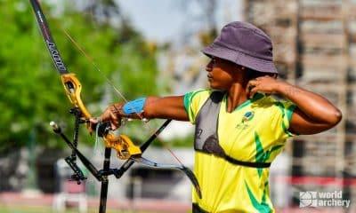 Ane marcelle dos santos pré-olímpico das américas de tiro com arco