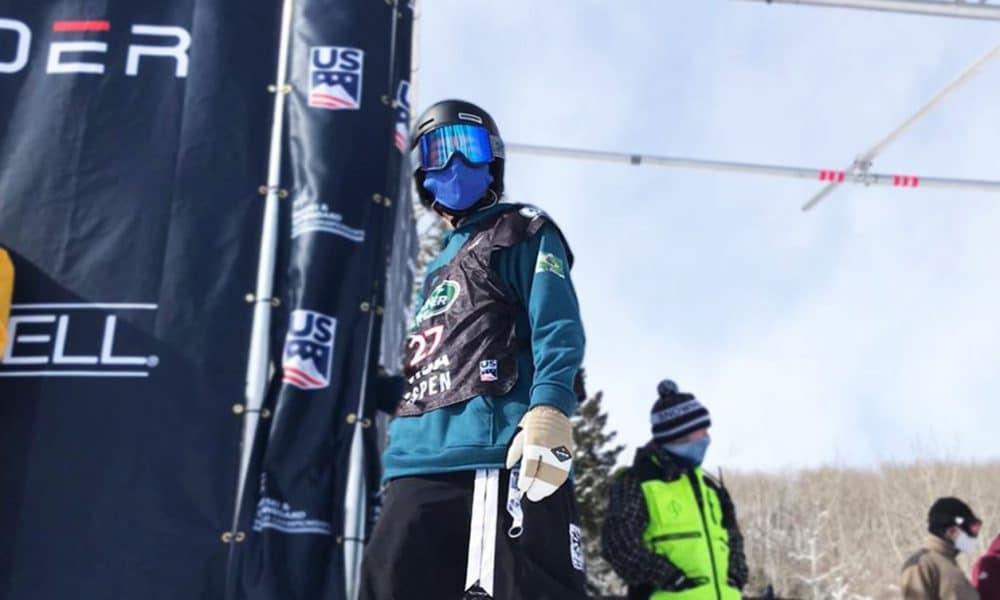 Augustinho Teixeira busca vaga olímpica no snowboard