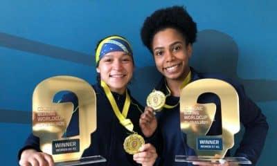 Beatriz Ferreira e Jucielen Romeu Cologne World Cup de boxe