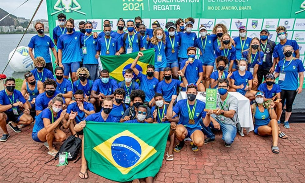 Brasil campeão sul-americano de remo