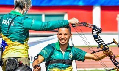 Brasil conquista quatro vagas no tiro com arco para os jogos paralímpicos