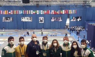 Brasil na copa do mundo de sabre em budapeste