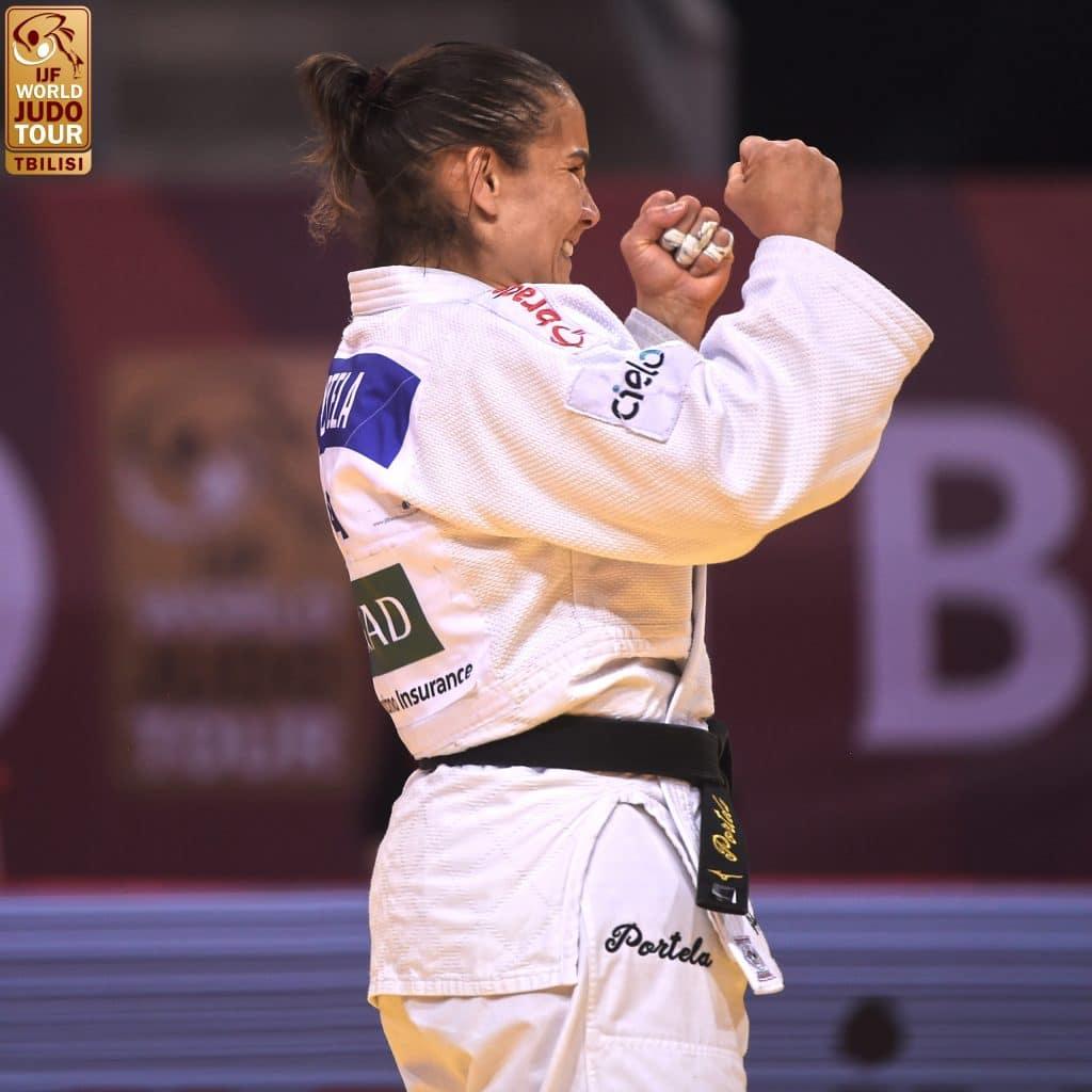 Maria Portela - judô - peso médio - até 70kg - Olimpíada de Tóquio 2020