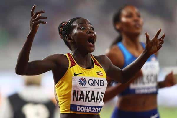 800m feminino Halimah Nakaayi Uganda