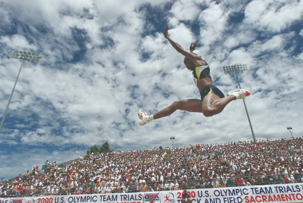 Jackie Joyner-Kersee salto em distância feminino