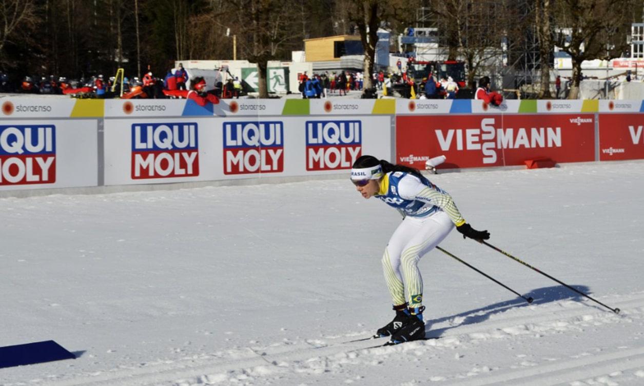 Jaqueline Mourão é uma das destaques do esqui cross-country brasileiro