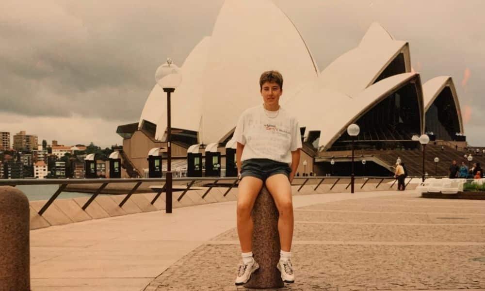 Krisztina Tóth em Sydney-2000