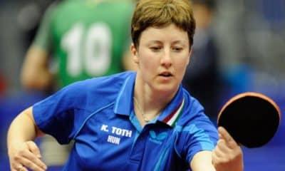Krisztina Tóth em ação