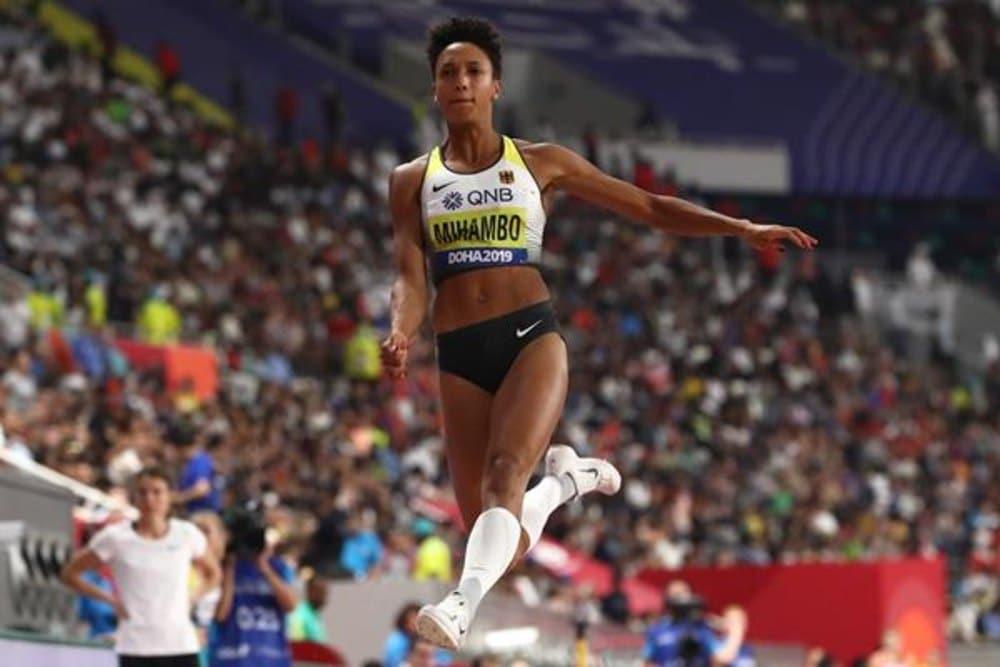 Malaika Mihambo salto em distância feminino World Athletics