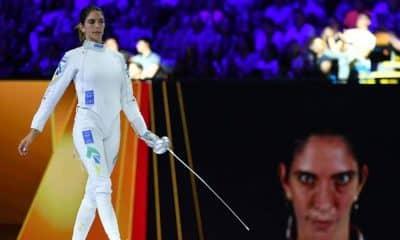 Nathalie Moellhausen se surpreende com nível da Coreia do Sul na volta da esgrima