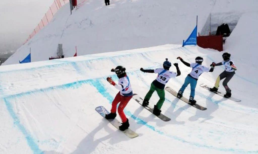 Noah Bethonico busca vaga olímpica no snowboard para o Brasil