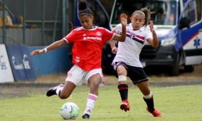 São Paulo x Internacional Campeonato Brasileiro Sub-18 de futebol feminino