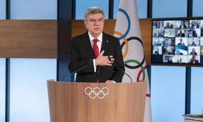 Thomas bach reeleito presidente do COI