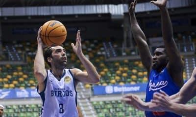 Vitor Benite San Pablo Burgos x Igokea Champions League de basquete masculino