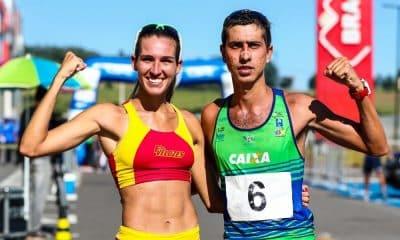 Viviane Lyra e Caio Bonfim Copa Brasil de marcha atlética