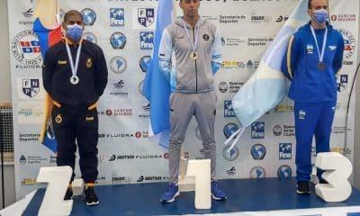 alexandre finco medalha de bronze na maratona aquática 10 km