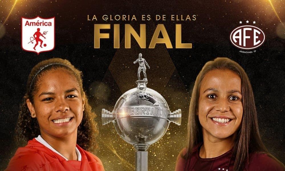 Assista ao vivo: América de Cali x Ferroviária - Final da Libertadores feminina | Olimpíada Todo Dia