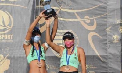 andressa vitória bronze brasil campeão do circuito sul-americano feminino de vôlei de praia