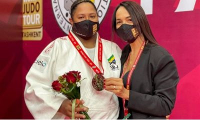 beatriz souza medalha de prata grand slam de tashkent