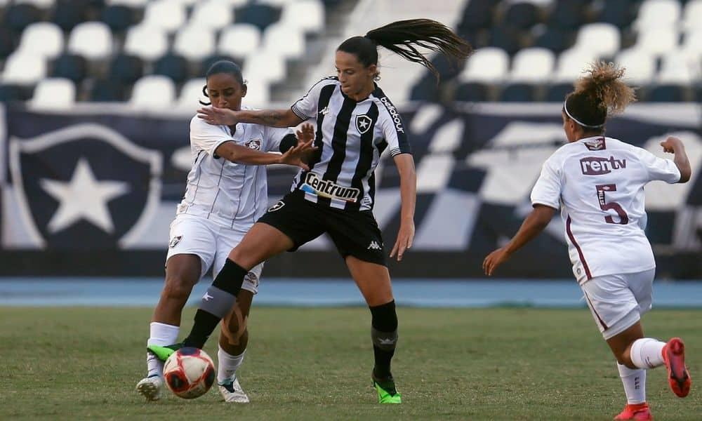 botafogo x fluminense final do campeonato carioca de futebol feminino