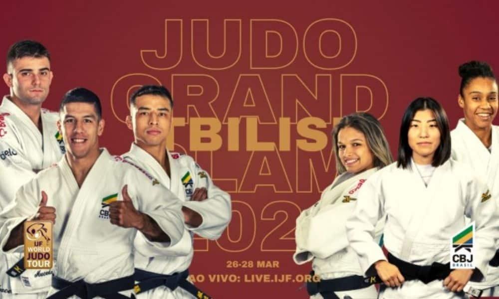 brasileiros no grand slam de tbilisi de judô