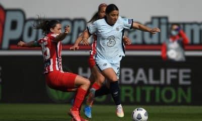 chelsea x atlético de madrid champions league de futebol feminino