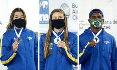 duas pratas e um bronze para o brasil no campeonato sul-americano de saltos ornamentais