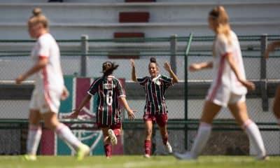 fluminense x internacional final do campeonato brasileiro sub-18 de futebol feminino