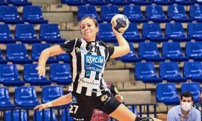 Isabelle Medeiros Malaga final Liga Europeia handebol