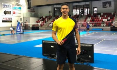 jonathan matias aberto da polônia de badminton