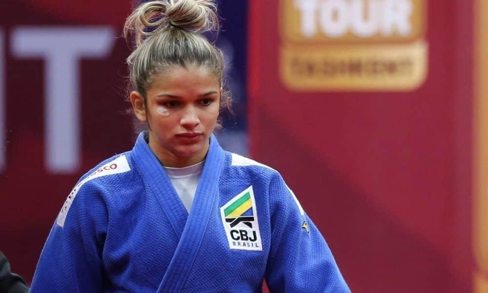 larissa pimenta quinto lugar no grand slam de tbilisi de judô mundial de judô Tóquio 2020 52kg meio-leve Jogos Olímpicos