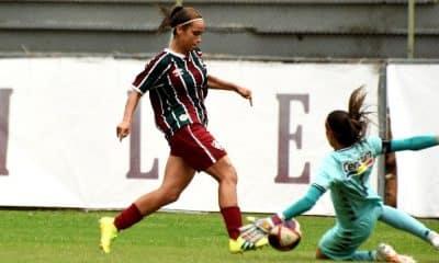 leticia flamengo x fluminense carioca de futebol feminino