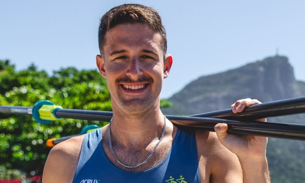 lucas verthein regata de qualificação olímpica do remo