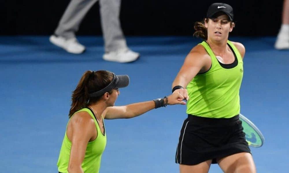 luisa stefani e hayley carter eliminadas nas quartas de final do WTA 1000 de Dubai