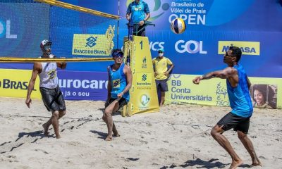 qualifying da oitava etapa do circuito brasileiro de vôlei de praia masculino