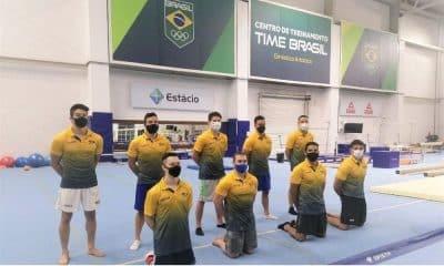 seleção brasileira de ginástica artística masculina