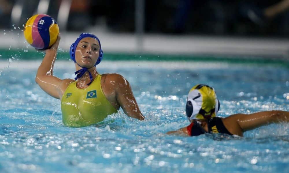 seleção brasileira de polo aquático feminino campeonato sul-americano de esportes aquáticos