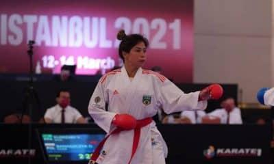 valéria kumizaki medalha de ouro na Premier League de Istambul