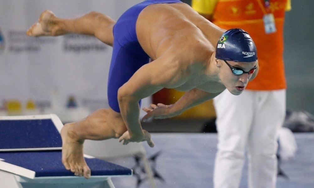 victor baganha campeonato sul-americano de esportes aquáticos