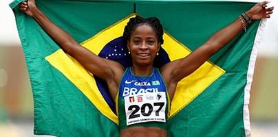 Vitória Rosa - 100m rasos - 200m rasos - revezamento 4x100m rasos - atletismo - Jogos Olímpicos de Tóquio 2020