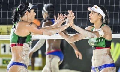 Ágatha Duda assista ao vivo Cancún Hub Circuito Mundial de vôlei de praia