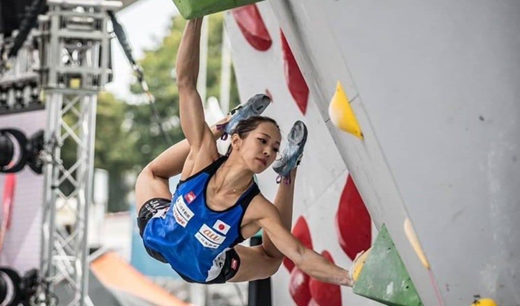 Akiyo Noguchi escalada esportiva