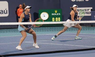 Ao vivo- Luisa Stefani:Hayley Carter x Shuko Aoyama:Ena Shibahara na final do WTA de Miami